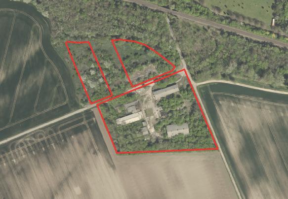 Luftaufnahme-Grundstück