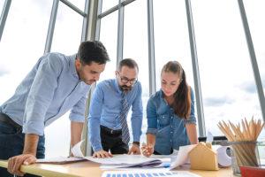 Teamwork in der Immobilienwirtschaft